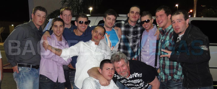 bachelor party guys night out