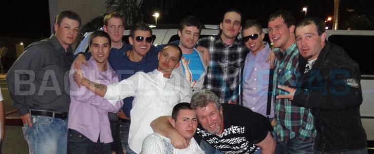 Male hustler parties