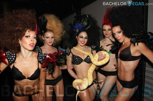 Limusina del club de striptease Las Vegas