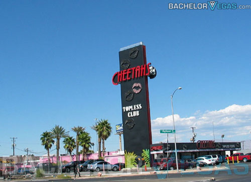 Cheetahs topless strip club las vegas