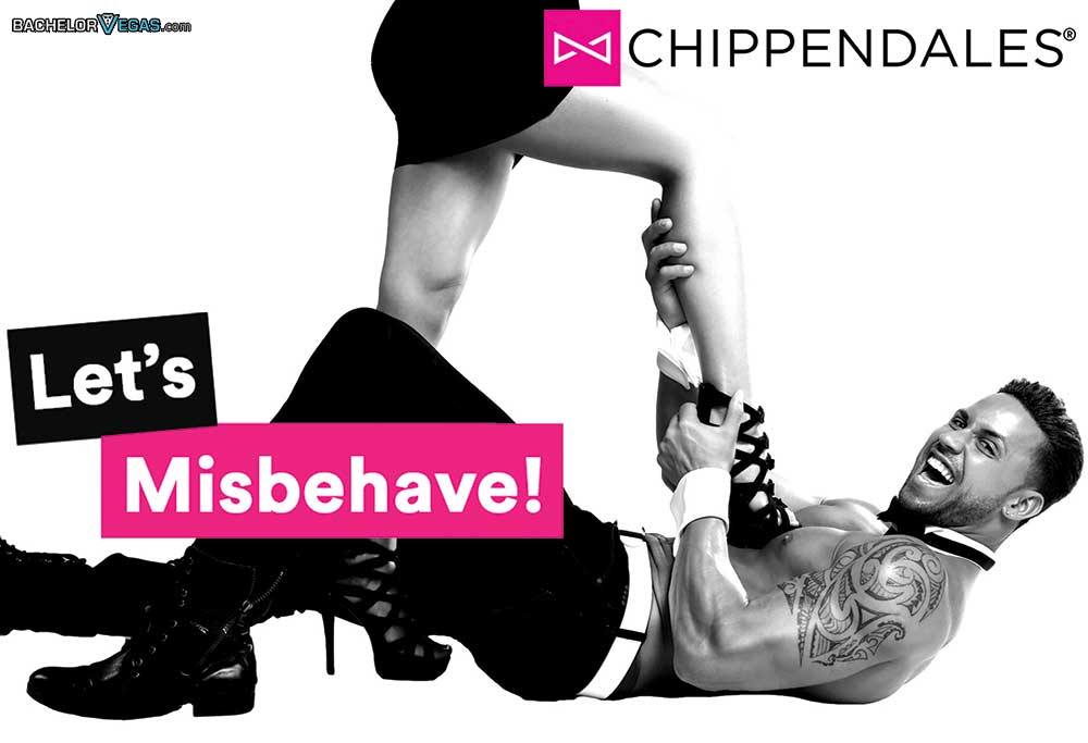 chippendales not to behave