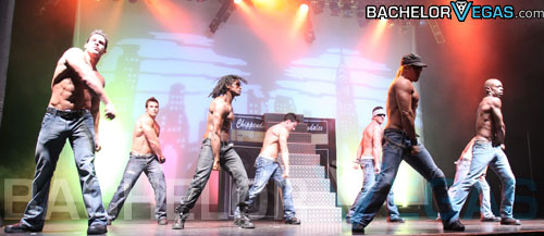 Chippendales hip hop dancing