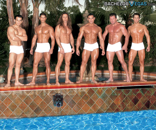 Men show for bachelorette parties