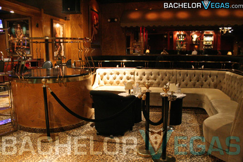 Spearmint Rhino VIP area