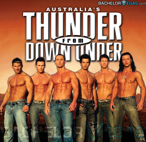 Thunder from Down Under Show