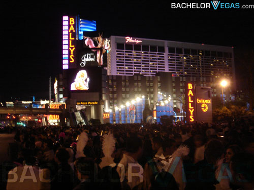 Las Vegas strip new years eve