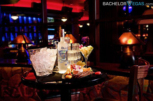 Blue Martini bottle service