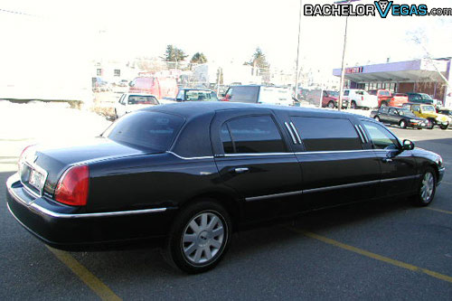 six passenger stretch limousine