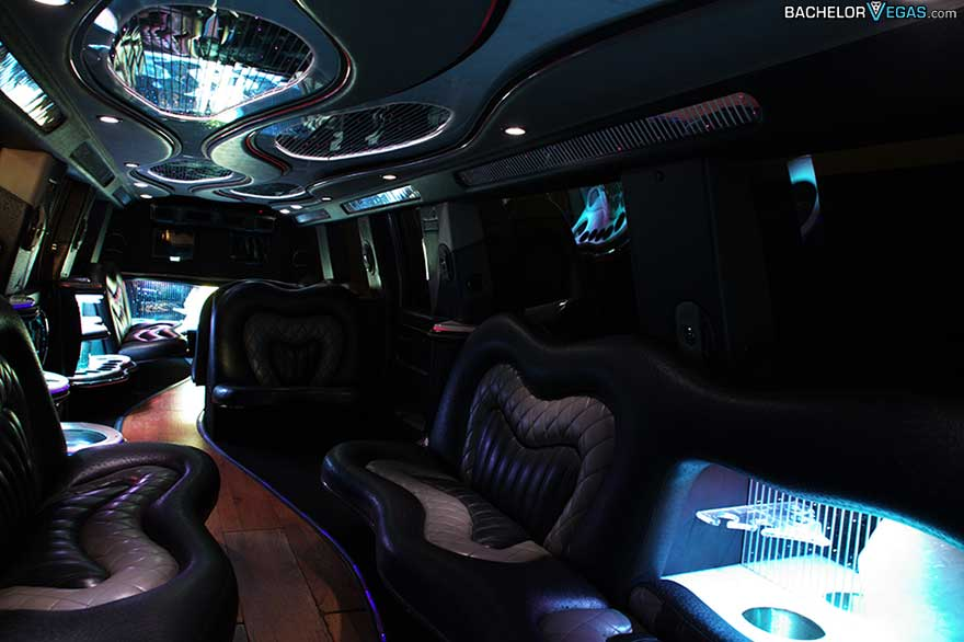 interior limo large groups