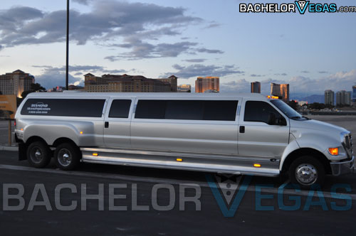 biggest limo in the world