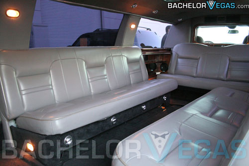 Vegas limousine seating