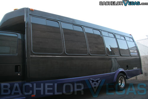 Las Vegas party bus rental