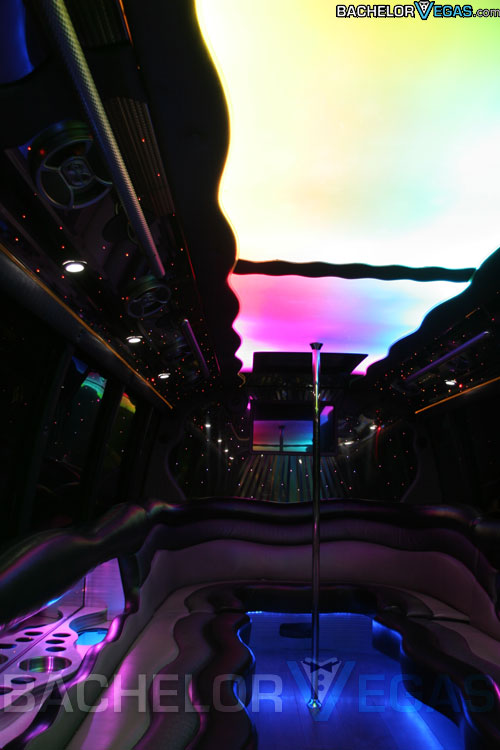 Vegas party bus inside look
