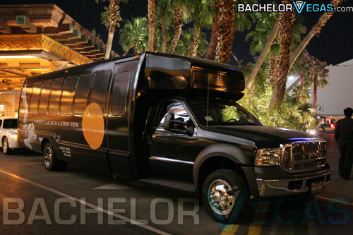 party bus hire Vegas