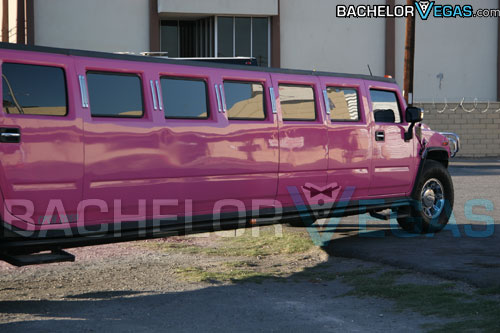 Las Vegas bachelorette party limo