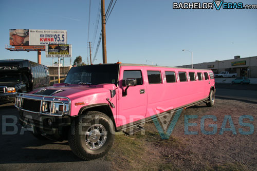 Las Vegas pink hummer for hire