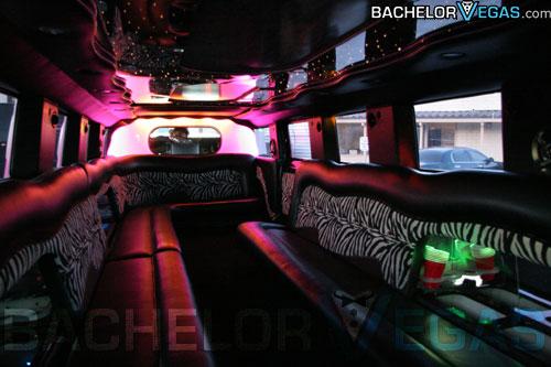 Las Vegas Pink Hummer LimoPink Hummer Limo Inside