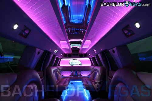 SUV strip club limo Las Vegas