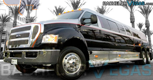big stag night limo Las Vegas