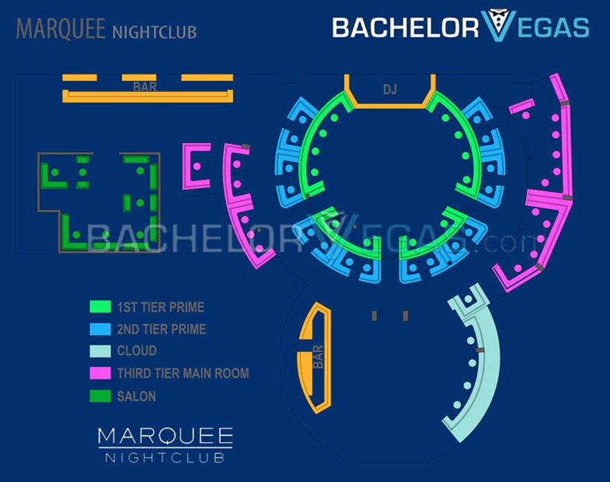Marquee Nightclub Las Vegas | Bachelor Vegas