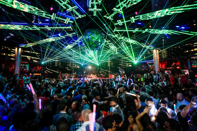 drais nightclub lighting