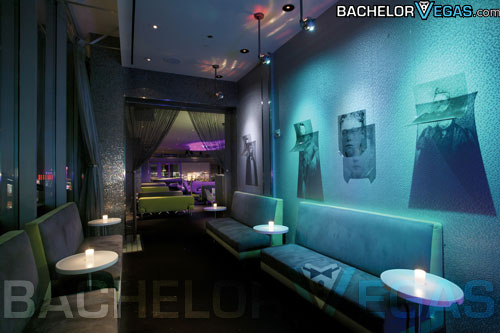 Ghostbar VIP room interior