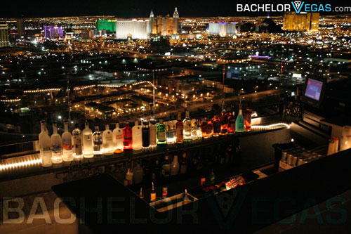 Las Vegas Strip view from Ghostbar