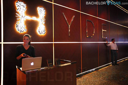 Hyde Lounge entrance