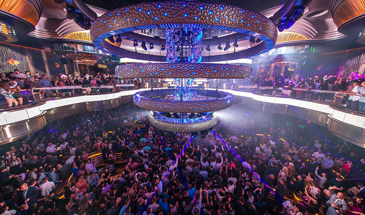 Omnia nightclub dance floor