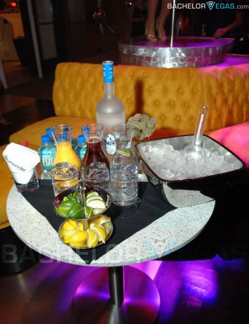surrender nightclub bottle service