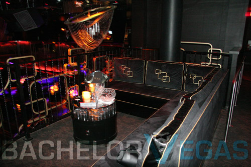 the Bank Nightclub bottle service