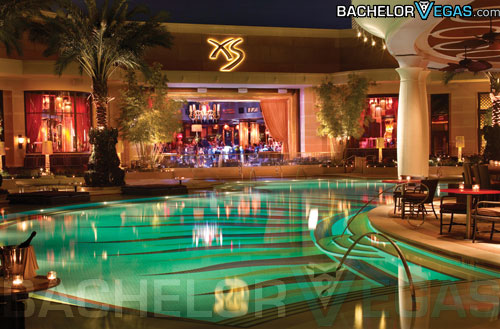 XS nightclub pool