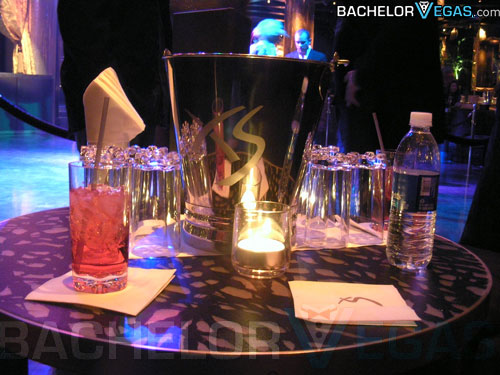 two club table with limo