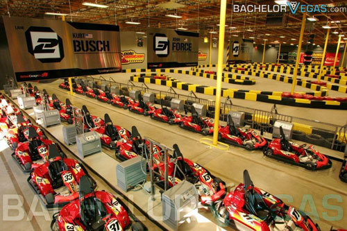 Las Vegas go cart racing