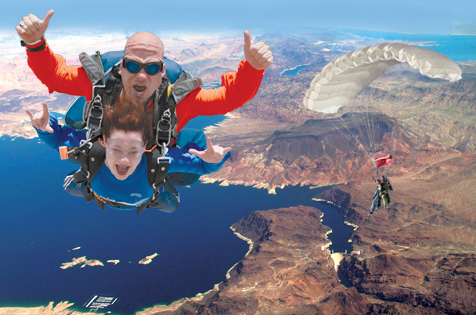 Vegas skydiving groupon - What are the 50 shades of grey books