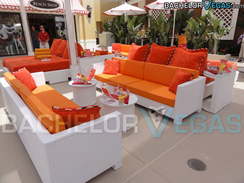 Encore Beach Club VIP tables