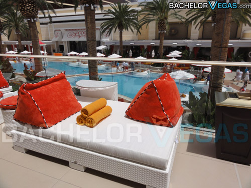 Encore Beach Club daybed