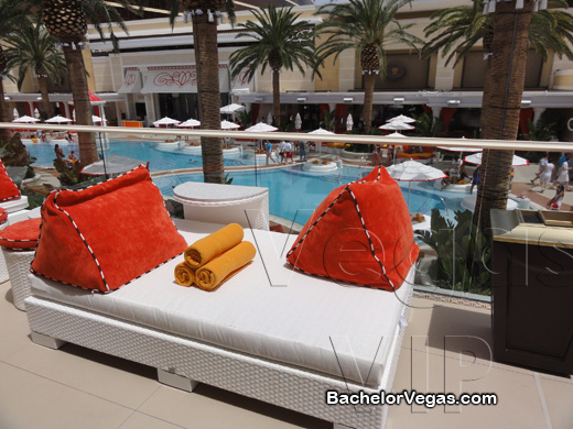 encore beach club day bed