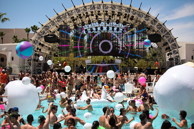 daylight las vegas pool party