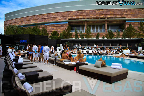 Aria Hotel pool party