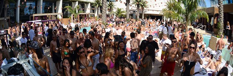 Marquee Dayclub Pool Party ☀ Cabana Rental Cosmopolitan