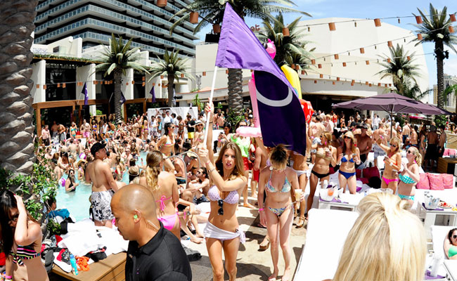 Marquee Dayclub cabanas daybeds