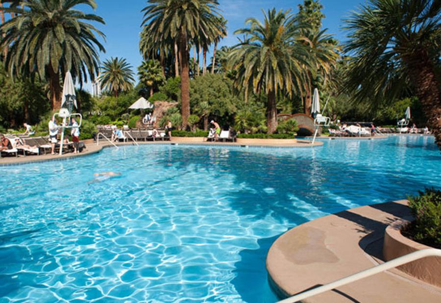 Mirage Pool Bachelor Vegas