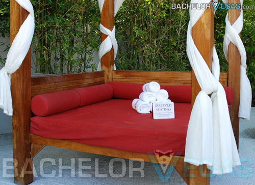 Moorea reserved VIP cabana