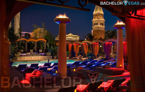 TAO Beach VIP tables