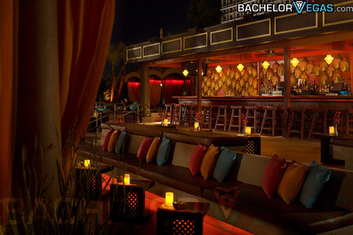 TAO Beach seating