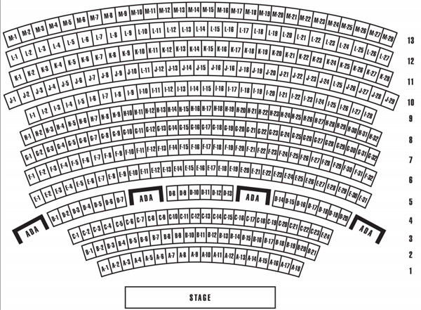 Planet Hollywood Vegas Seating Chart Zappos Theater At