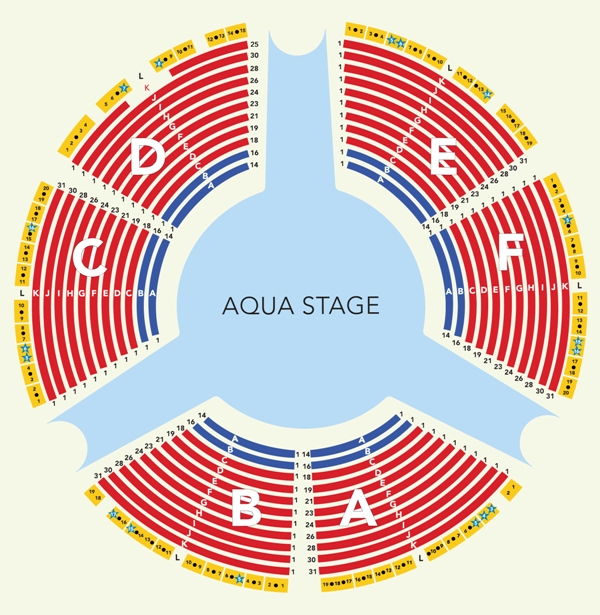 Le Reve Seating Chart