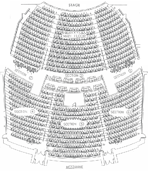 Penn Teller Seating Chart