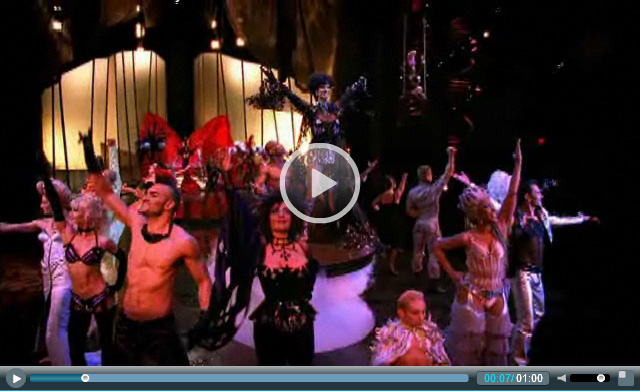 Zumanity!!! Amazing, funny, sexy, and sensual aerial